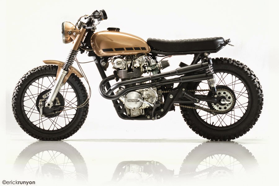 Honda cb 450 1971 Copper by