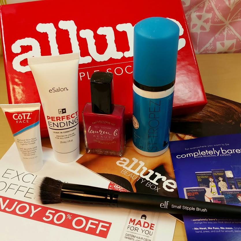 The Last Allure Sample Society Box June 2015 Review | Bits and Boxes