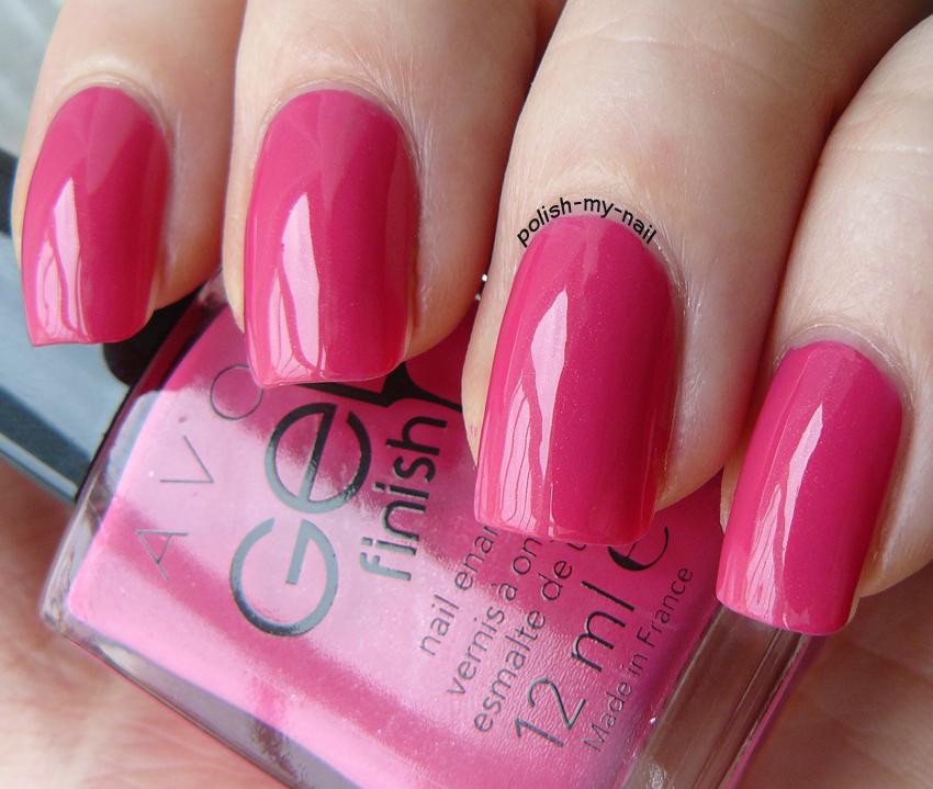 Avon Pink Nail Polish: Gel Finish Parfait Pink