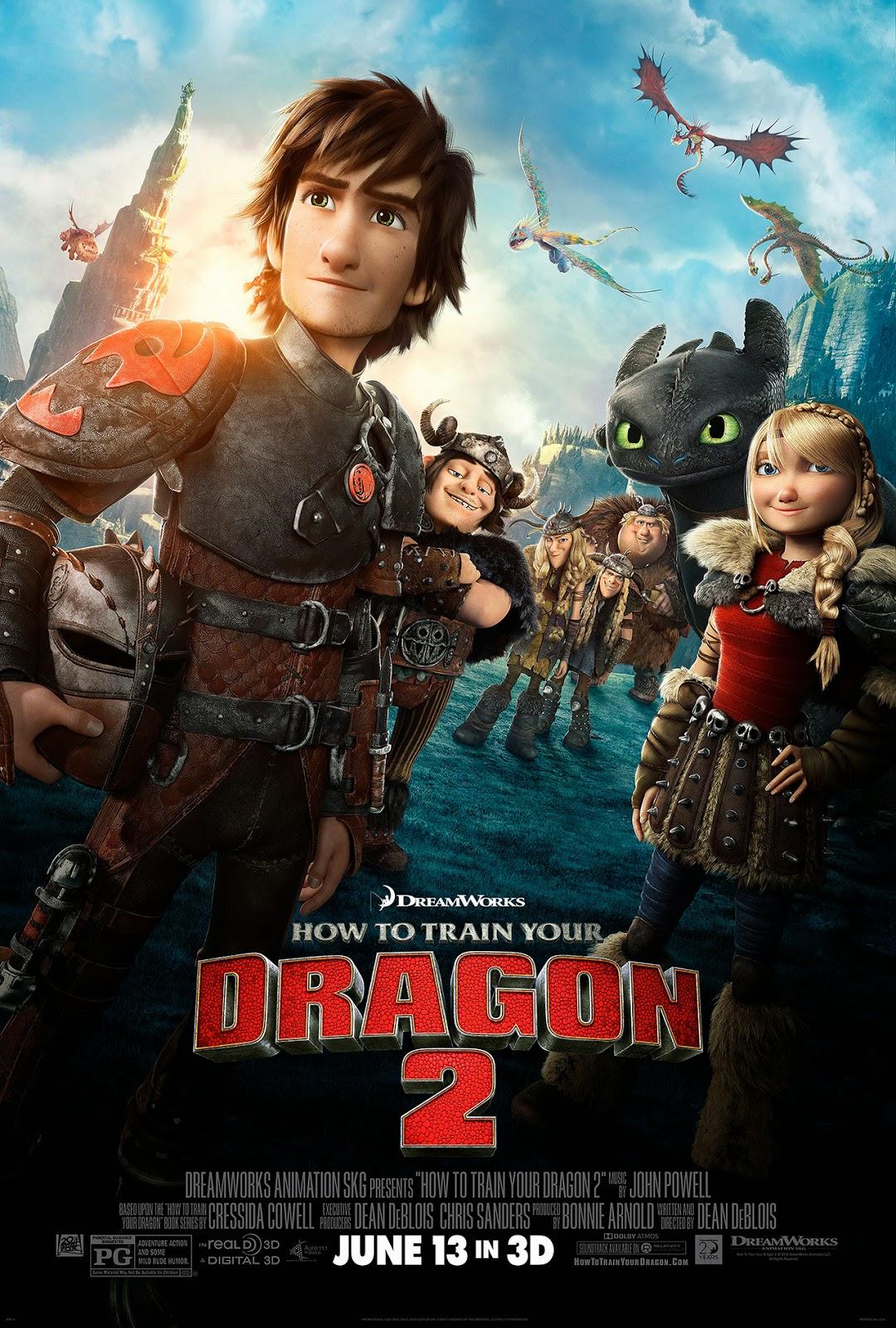 xem phim Bí Kíp Luyện Rồng 2 - How to Train Your Dragon 2 full hd vietsub online poster