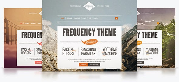 Frequency v1.0.1 - Yootheme Wordpress Theme