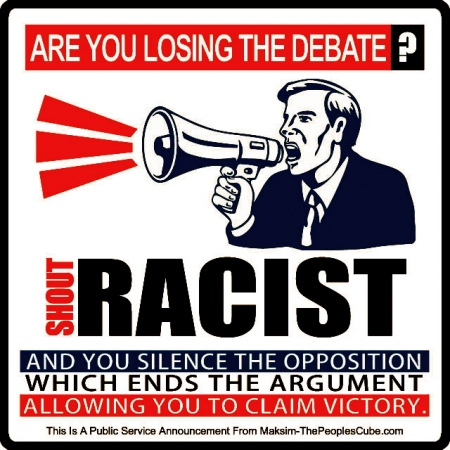disagree call them racist