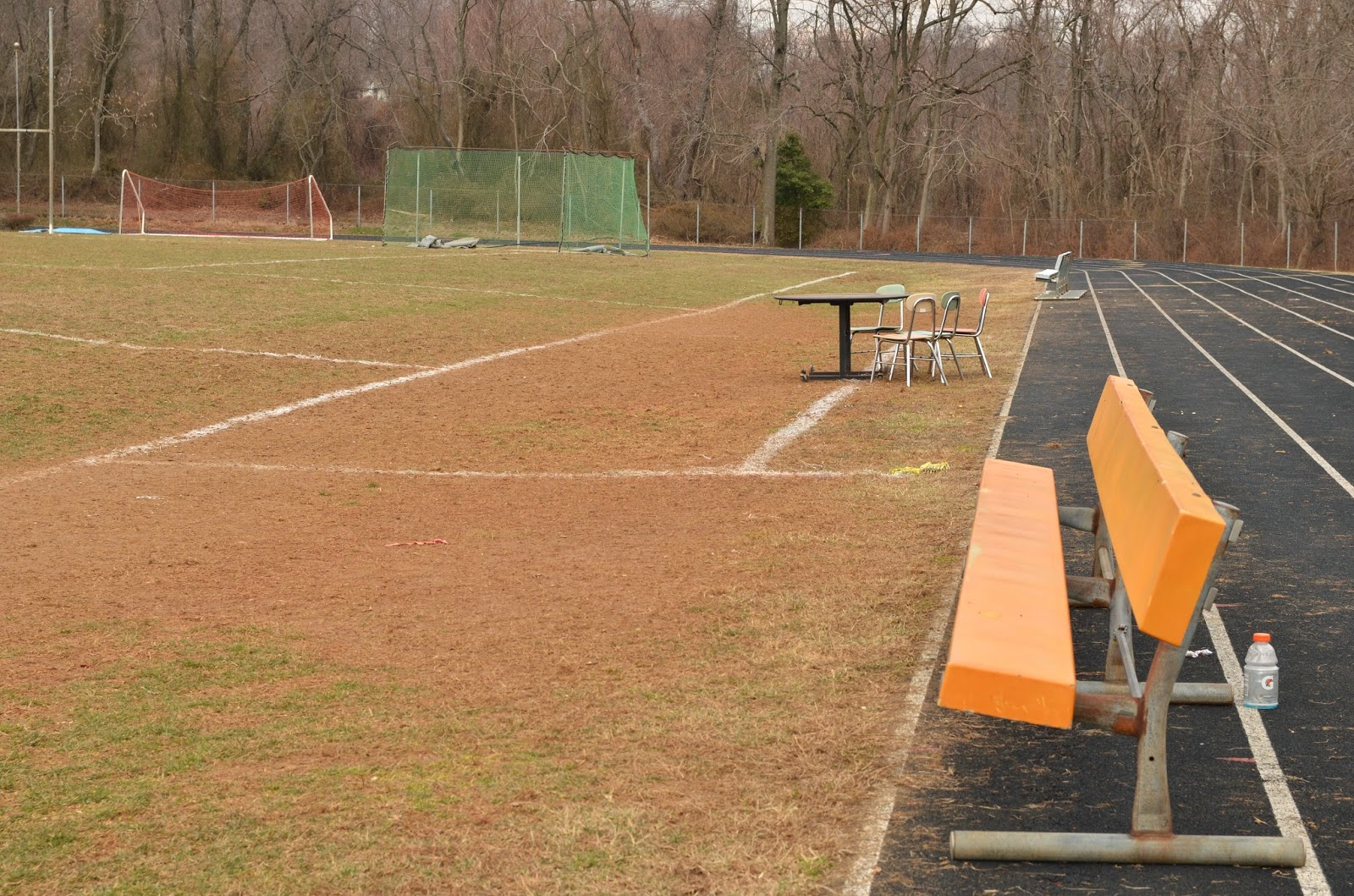 Perryville High School players bench