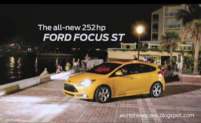 Ford Focus ST: First TV Ad Filmed by Fans