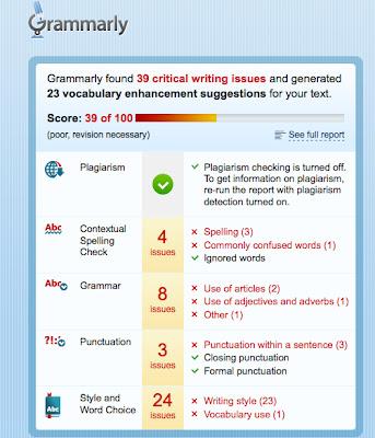 Grammar Checker For Essay