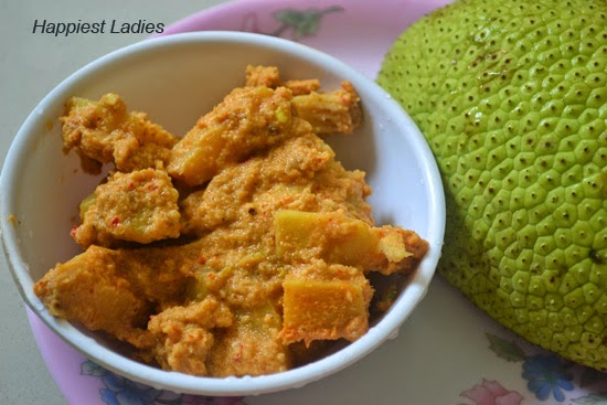 South Indian Bread Fruit Sambar