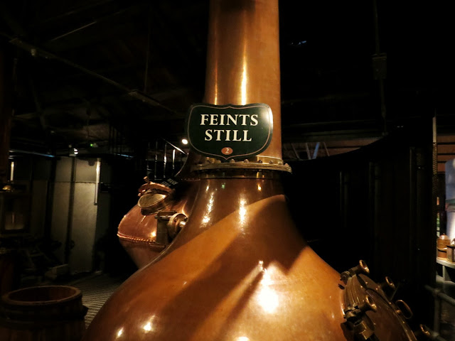 Feints Still at Jameson Distillery in Dublin