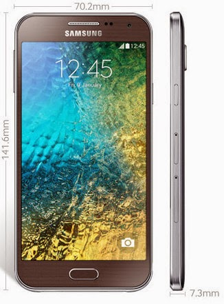 Samsung Galaxy E 5 Dengan Tampilan Slim