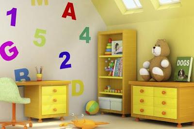 decoración cuarto infantil