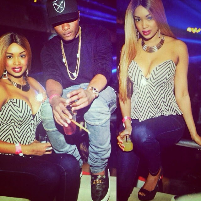 What's Wizkid Doing With Two HOT Babes In Atlanta In This Photo???