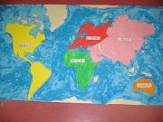 Mapa da Expedição Brasil Voando Alto mapa mundo