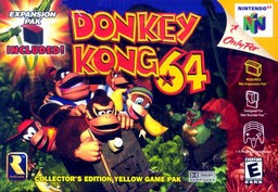 Box art for Donkey Kong 64