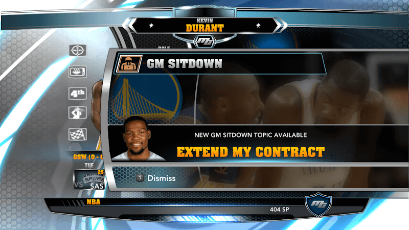 NBA 2k14 MyCareer Mod : Kevin Durant - hoopsvilla