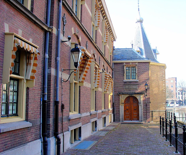 Among the multiple Parliament buildings in The Hague, this edifice is home to the office of the Prime Minister.