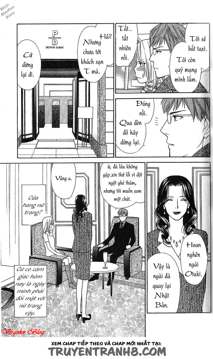 Chou yo Hana Yo chap 29 - Trang 16