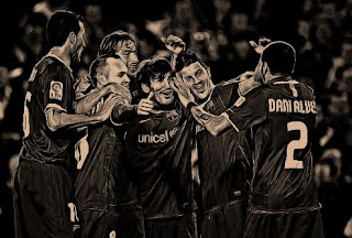 FC Barcelona starting XI