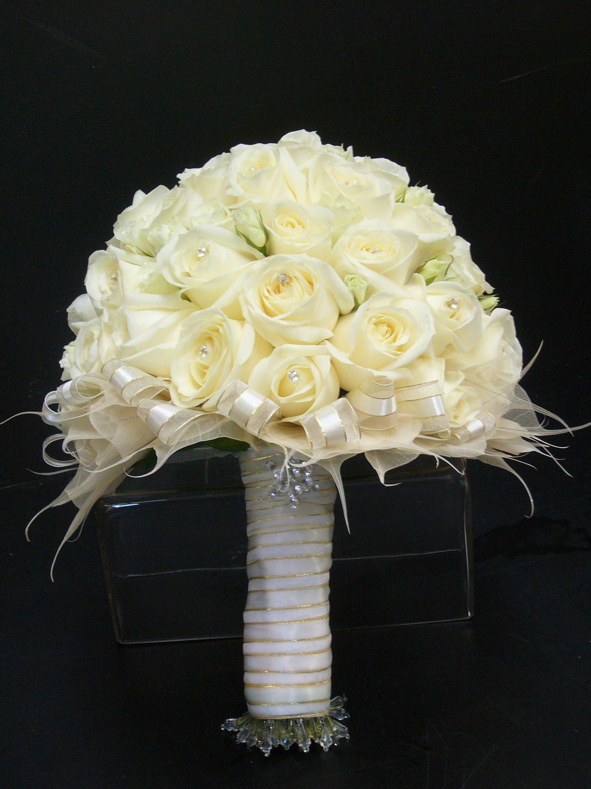 The Beautiful White Wedding Flowers