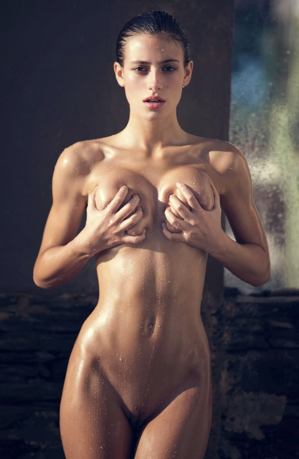 model nude Mexican