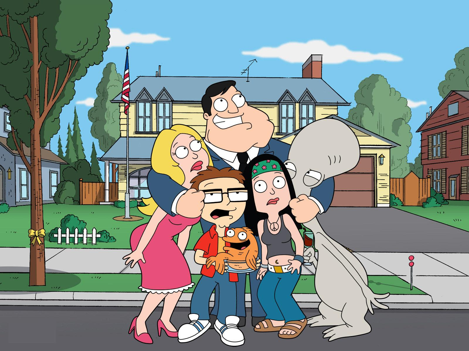 ver online American Dad, Padre De Familia, Futurama + yapa