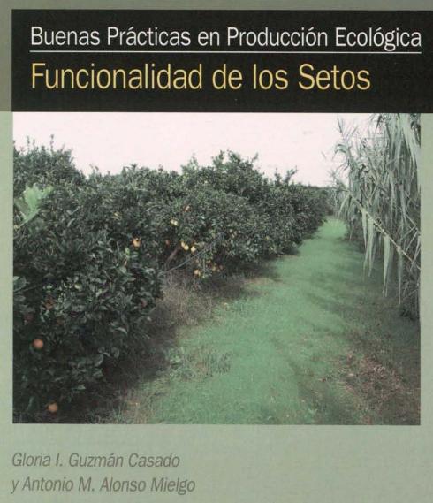 Funcionalidad de los setos en agricultura ecol gica for Pdf jardineria y paisajismo