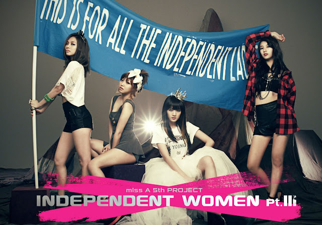 Miss A Independent Women Pt III Wallpaper