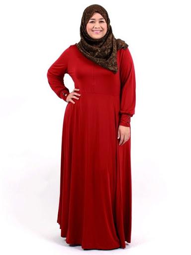 Trend Baju Muslim Untuk Wanita Gemuk atau Hamil Terbaru 2017/2018