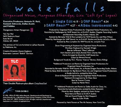 TLC - Waterfalls-CDS-1994