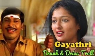 Gayathri Raghuram Drunk and Drive Troll| 90's Kids vs 20's kids | Bass Rockers