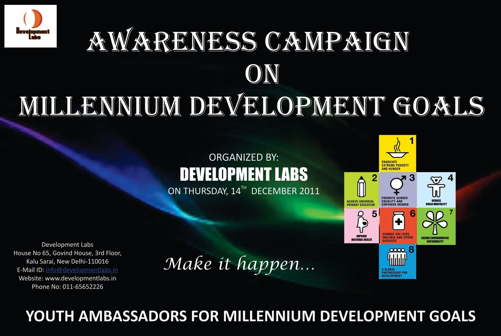 3rd millennium development goal