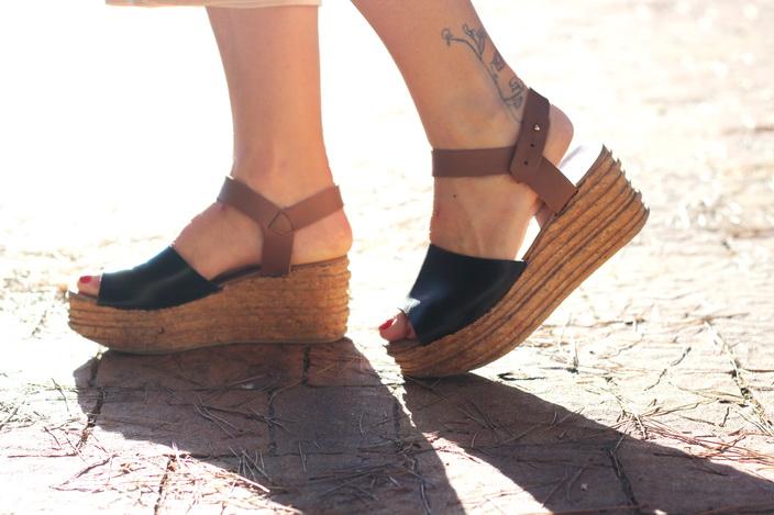 flatforms - streetstyle - calzados sandra - sandra morales