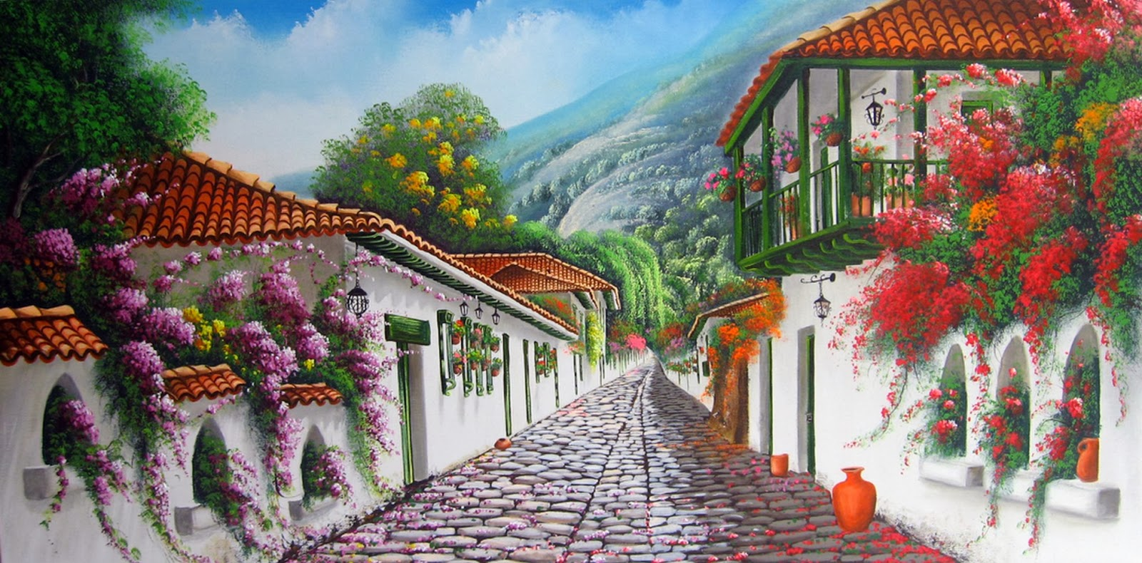 Pintura moderna y fotograf a art stica pintores de for Cuadros mexicanos rusticos
