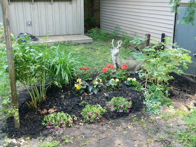 Mount Pleasant West back garden clean up after Paul Jung Gardening Services Toronto