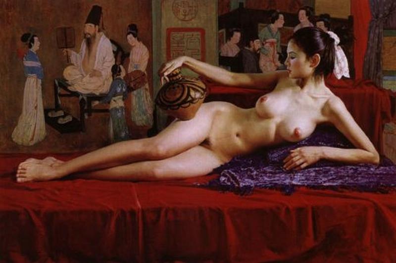 D.W.C. Chinawoman - Painter Guan ZeJu