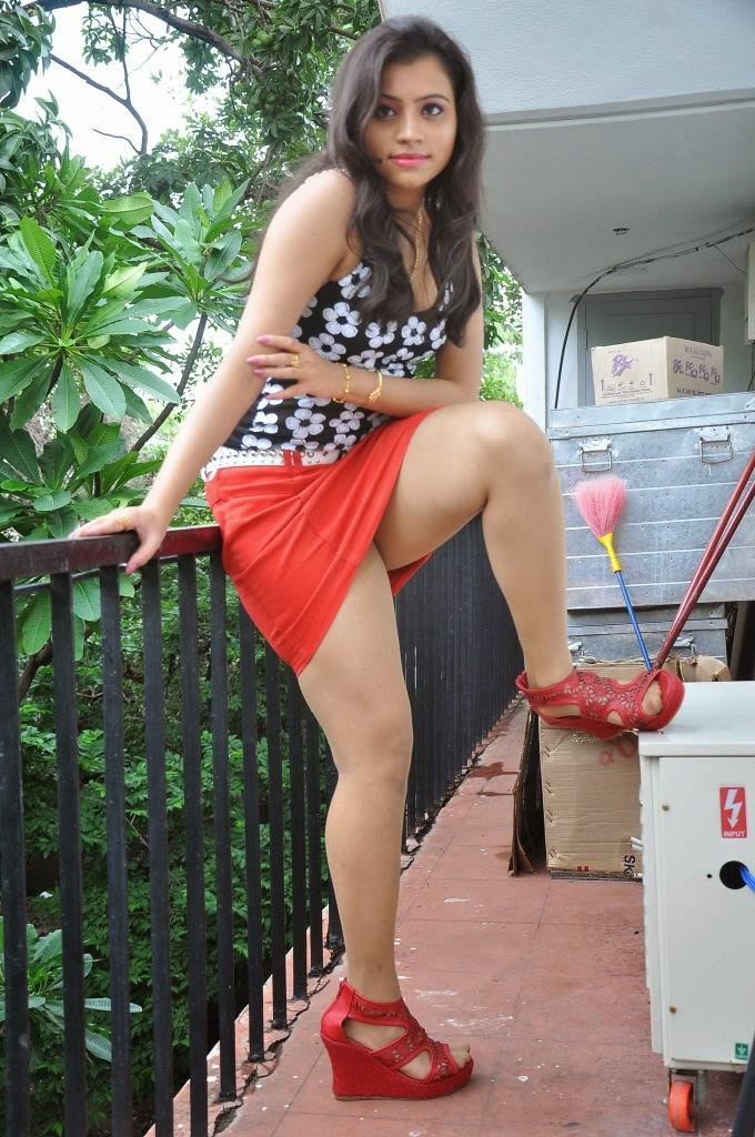 Actress Priyanka Latest Hot Thigh Show Stills Cine Gallery