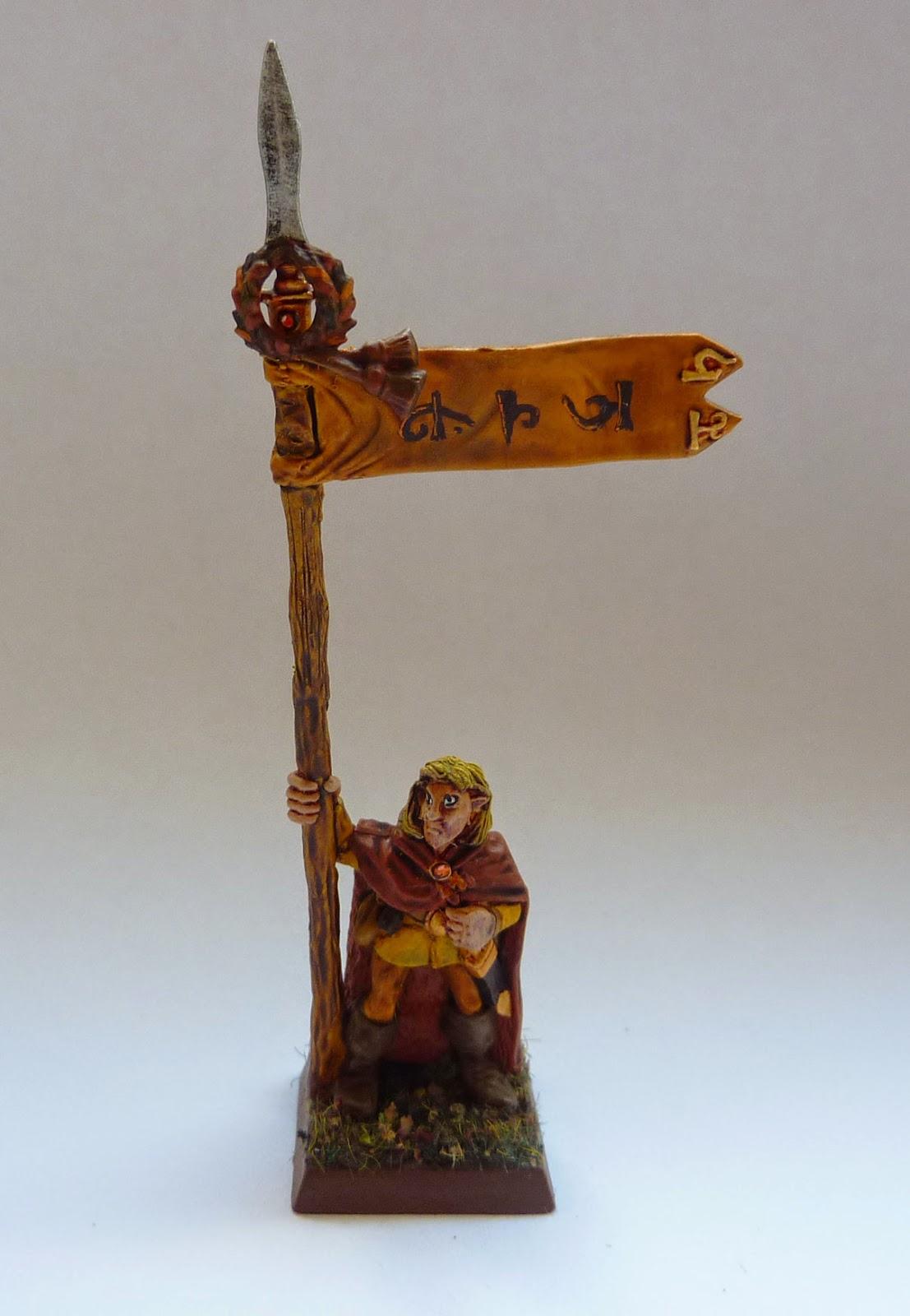 Converted Wood Elf metal Glade Guard