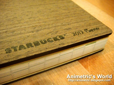 Starbucks Planner 2012
