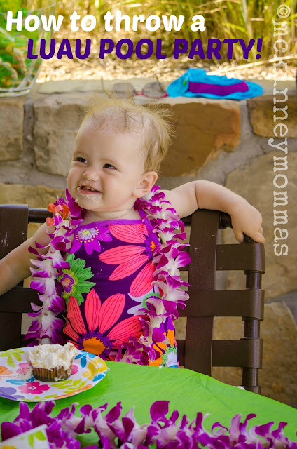 Baby With Flower Lei