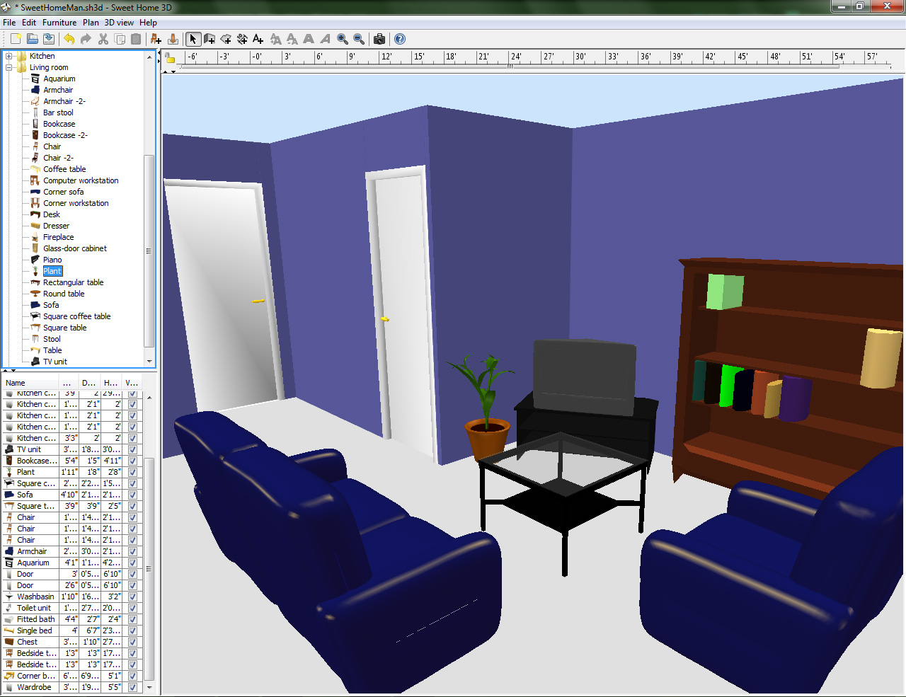 House interior design software 3d design application
