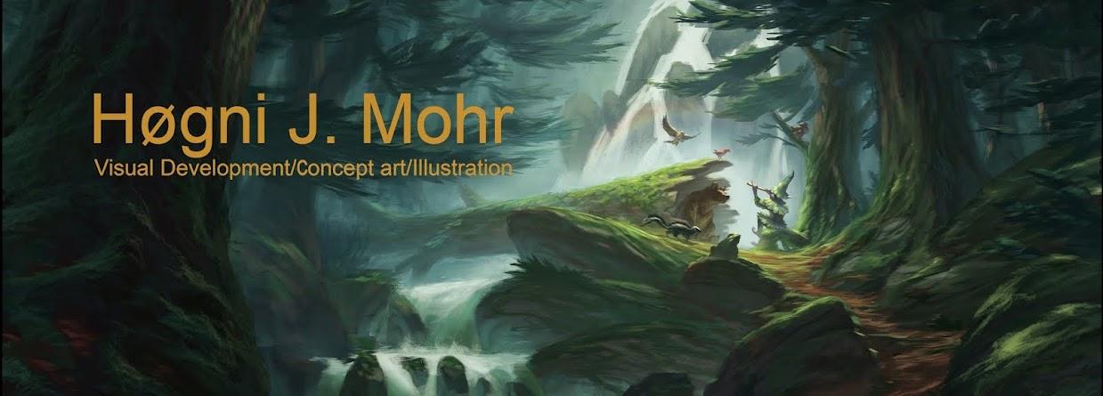 Art of Høgni J. Mohr