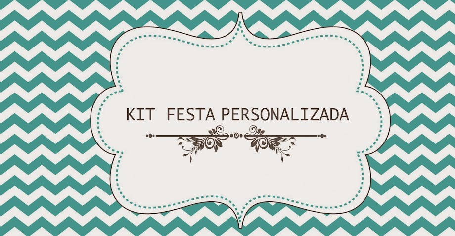 Kit Festa Personalizada - Carol Mitidieri