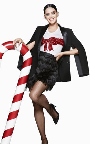 Katy Perry H&M campaña Navidad