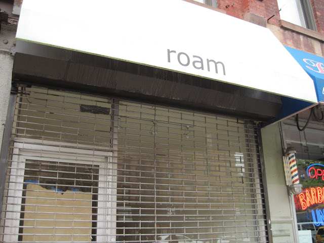 Roam has been closed and will be making way for another New in New York tenant