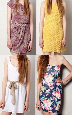 vestidos de noche primavera verano 2012