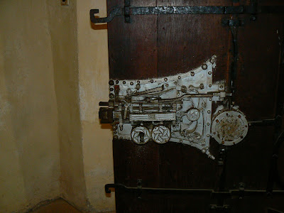Imagini Romania: biserica fortificata de la Biertan mecanism