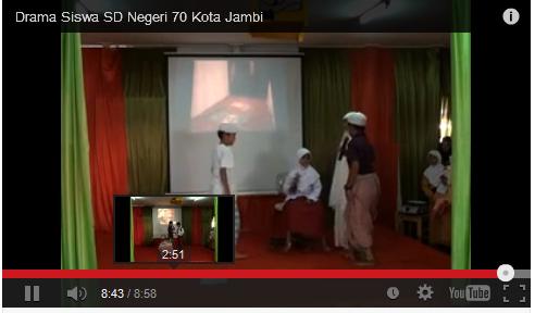 Video Drama Yang Berjudul Akhlak Sd Negeri 70 Jambi