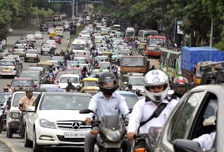 TRAFFIC AND TRANSPORTATION IN BANGALORE CITY