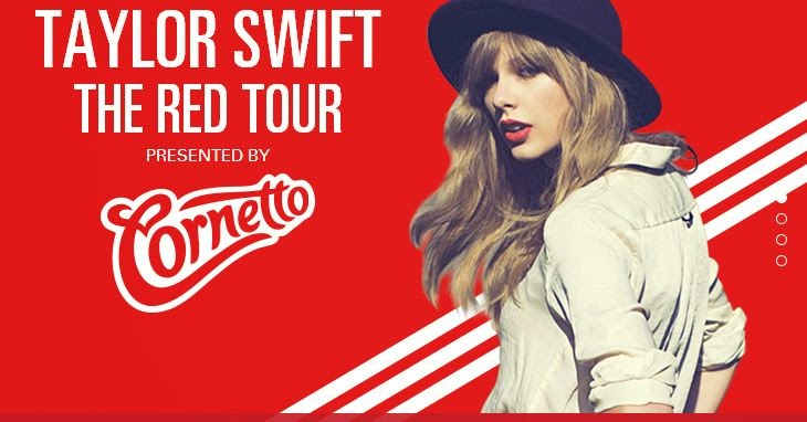 Red Contest Win Taylor Swift Merchandise And Concert Tickets Unitedmy