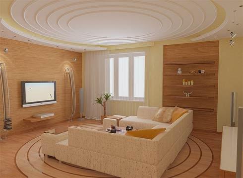 living room design ideas with gypsum ceiling