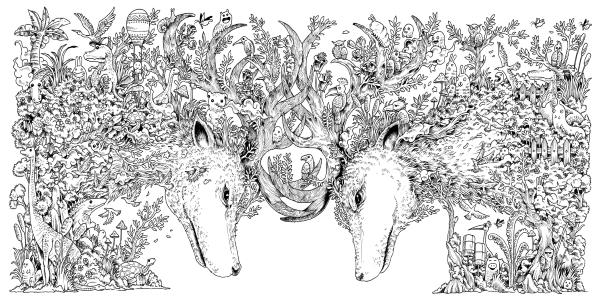 Animorphia - Um Livro para Colorir ~ Livros Nas Estrelas