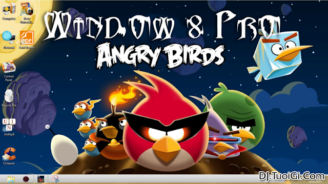 Ghost Windows8 Pro AngryBirds ! Đậm chất nóng nực - Hynls Blog